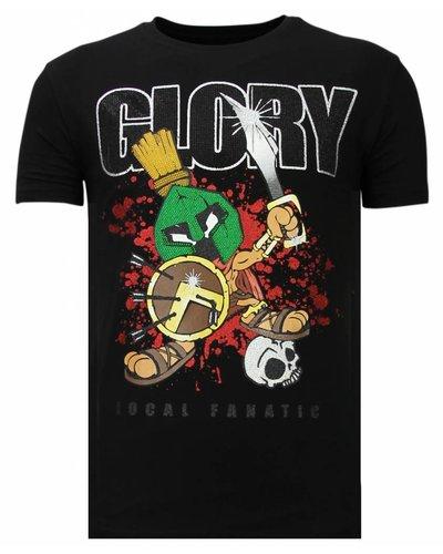 Local Fanatic T-shirt - Glory Martial - Zwart