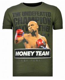 Local Fanatic T-shirt - Money Team Champ - Grün