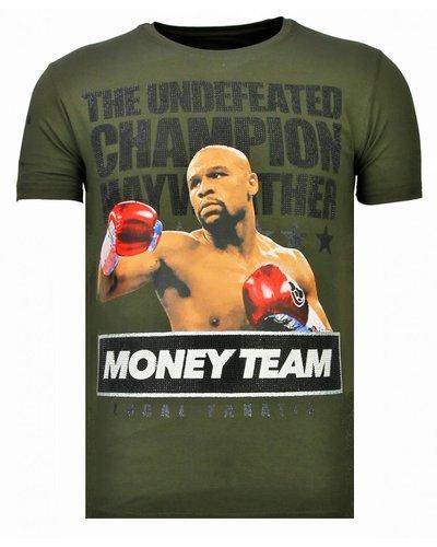 Local Fanatic Camiseta - Money Team Champ - Verde