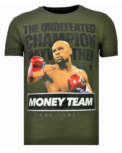 Local Fanatic T-shirt - Money Team Champ - Khaki