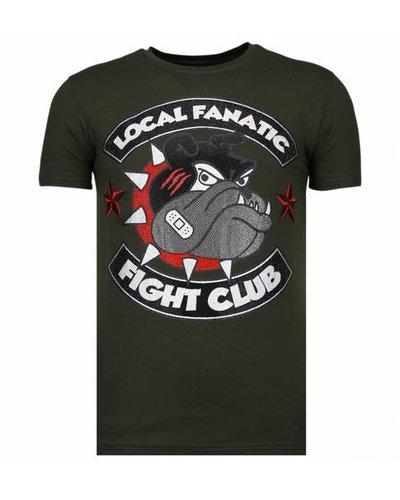 Local Fanatic T-shirt - Fight Club Spike - Khaki