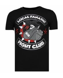 Local Fanatic T-shirt - Fight Club Spike - Schwarz
