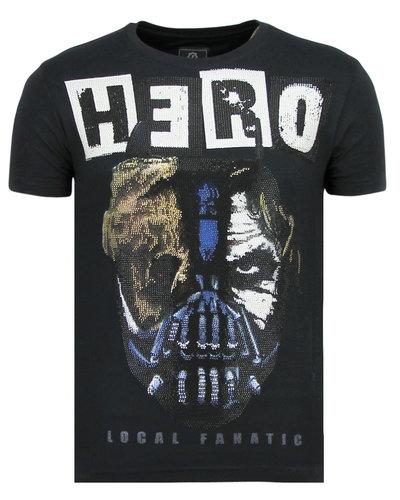 Local Fanatic T-shirt - Hero Mask - Blue