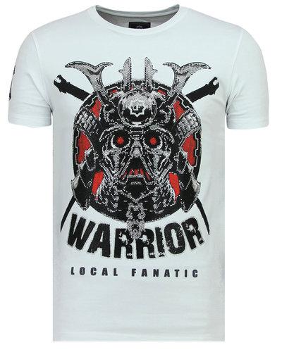Local Fanatic T-shirt - Savage Samurai - Wit
