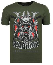 Local Fanatic T-shirt - Savage Samurai - Army