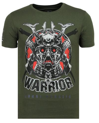 Local Fanatic T-shirt - Savage Samurai - Khaki