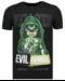 Local Fanatic T-shirt - Villain - Zwart