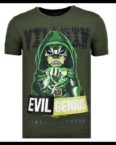 Local Fanatic T-shirt - Villain - Khaki