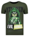 Local Fanatic T-shirt - Villain - Grün