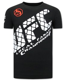 Local Fanatic T-shirt - UFC - Black