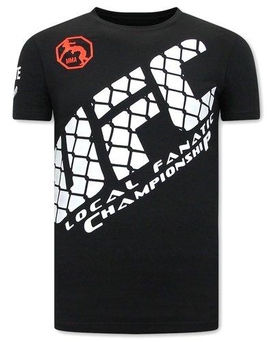 Local Fanatic T-shirt - UFC - Zwart