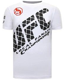 Local Fanatic T-shirt - UFC - Wit