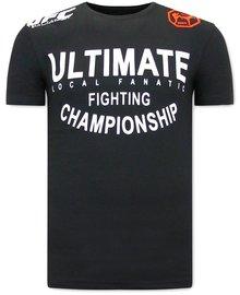 Local Fanatic Camiseta - UFC Ultimate - Negro