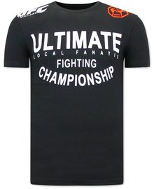 Local Fanatic T-shirt - UFC Ultimate - Zwart