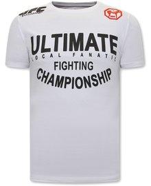 Local Fanatic T-shirt - UFC Ultimate - Weiß