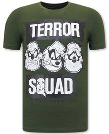 Local Fanatic T shirts - Beagle Boys Squad  - Groen