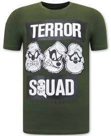Local Fanatic T-Shirts - Beagle Boys Squad - Grün