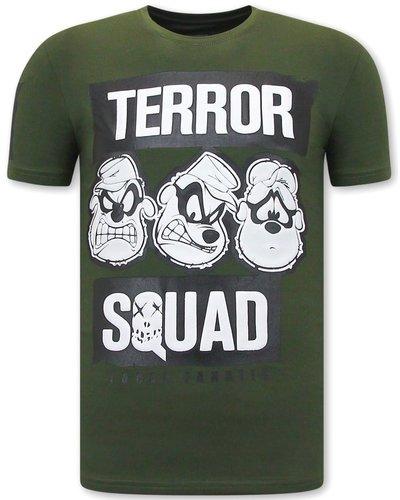 Local Fanatic  T shirts - Beagle Boys Squad - Green