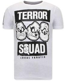Local Fanatic T-Shirts - Beagle Boys Squad - Weiß