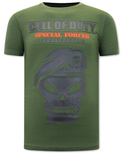 Local Fanatic T-shirt - Call of Duty - Green