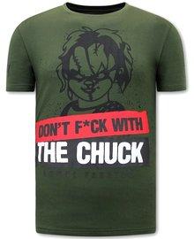 Local Fanatic T-shirt - Chucky - Grün