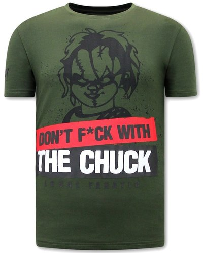 Local Fanatic T-shirt - Chucky - Green