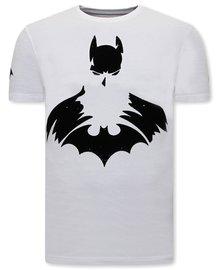 Local Fanatic T-shirt - Batman - Weiß