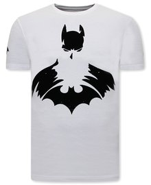 Local Fanatic T-shirt - Batman - Wit