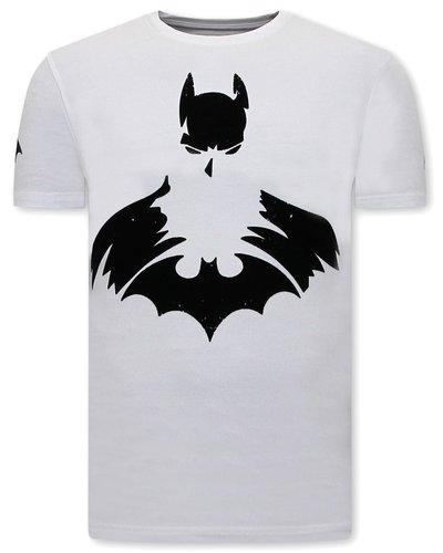 Local Fanatic T-shirt - Batman - White