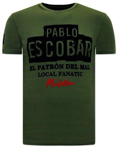 Local Fanatic T-shirt - El Patron - Grün