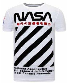 Local Fanatic T-shirt - NASA - White