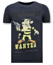 Local Fanatic T-shirt - Dalton The Chief - Blauw