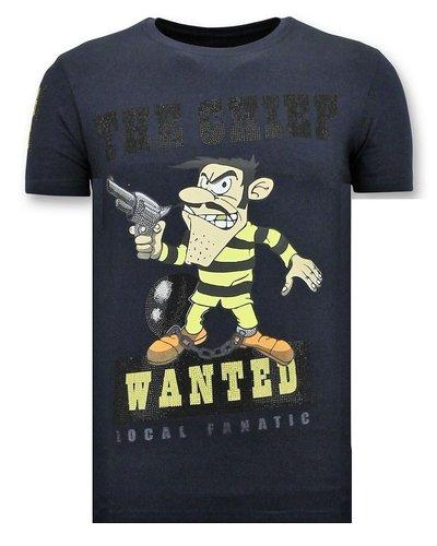 Local Fanatic T-shirt - Dalton The Chief - Blau