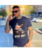 Local Fanatic T-shirt - Daffy Montana - Blau