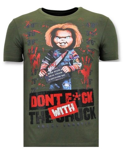 Local Fanatic T-shirt - Dont Fuck With Chuck - Grün