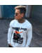 Local Fanatic Sweater Heren - Daffy Montana - Wit