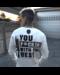 Local Fanatic Sweatshirt Men - Daffy Montana - White