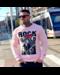 Local Fanatic Sweater Heren - Tomcat Rock My World - Roze