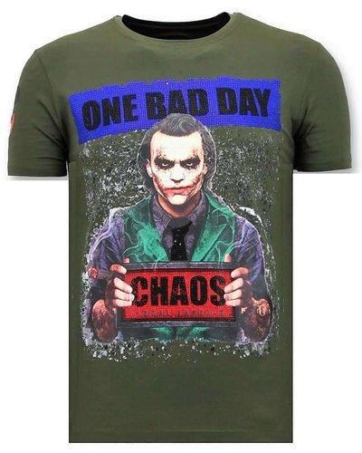 Local Fanatic T-shirt - Joker Chaos - Army