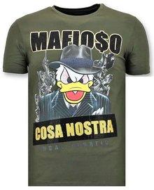 Local Fanatic T-shirt - Mafioso Duck - Grün