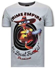 Local Fanatic T-shirt - Darkwin Empire - White
