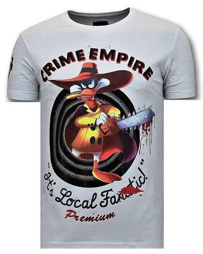Local Fanatic T-shirt - Darkwin Empire - Weiß