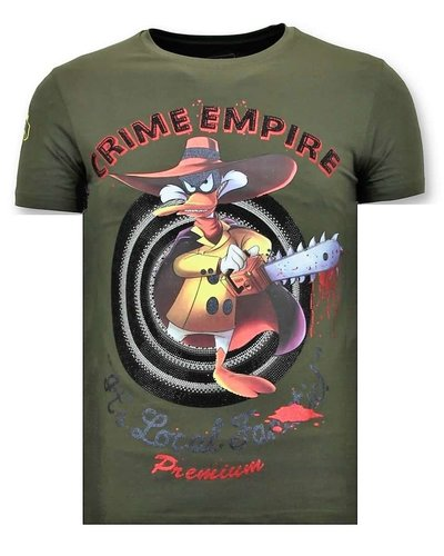 Local Fanatic T-shirt - Darkwin Empire - Khaki