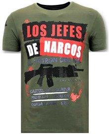 Local Fanatic T-shirt - Los Jefes De Narcos - Khaki