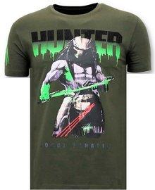 Local Fanatic T-shirt - Predator Hunter - Green