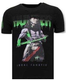Local Fanatic T-shirt - Predator Hunter - Schwarz
