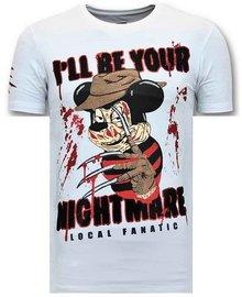 Local Fanatic T-shirt - Mickey Krueger - White