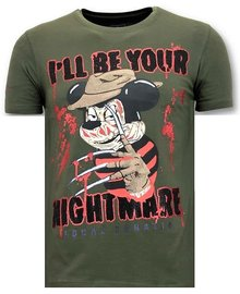 Local Fanatic T-shirt - Mickey Krueger - Khaki
