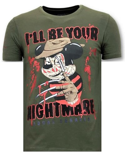 Local Fanatic T-shirt - Mickey Krueger - Army
