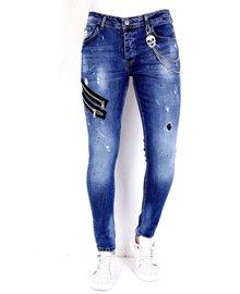 Local Fanatic Men's Jeans - Slim Fit - LF-DNM-1002 - Blue